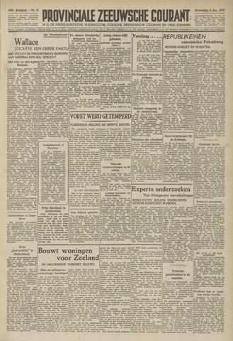Provinciale Zeeuwse Courant 1947-01-08