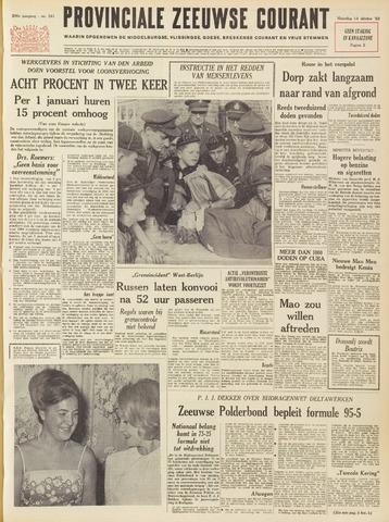 Provinciale Zeeuwse Courant 1963-10-14