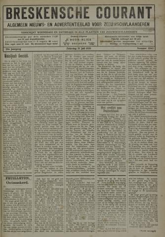 Breskensche Courant 1920-07-31