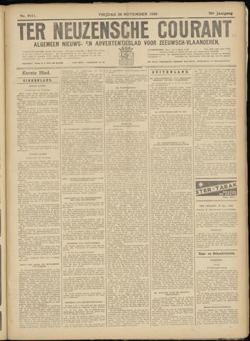 Ter Neuzensche Courant. Algemeen Nieuws- en Advertentieblad voor Zeeuwsch-Vlaanderen / Neuzensche Courant ... (idem) / (Algemeen) nieuws en advertentieblad voor Zeeuwsch-Vlaanderen 1930-11-28