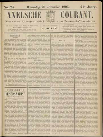 Axelsche Courant 1905-12-20