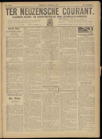 Ter Neuzensche Courant. Algemeen Nieuws- en Advertentieblad voor Zeeuwsch-Vlaanderen / Neuzensche Courant ... (idem) / (Algemeen) nieuws en advertentieblad voor Zeeuwsch-Vlaanderen 1933-03-03