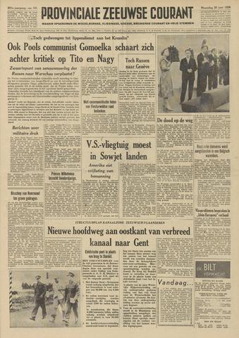 Provinciale Zeeuwse Courant 1958-06-30