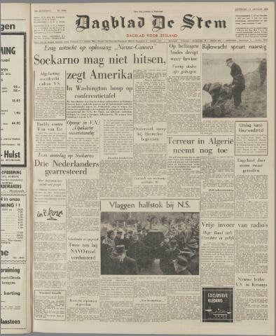 de Stem 1962-01-13