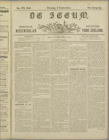 De Zeeuw. Christelijk-historisch nieuwsblad voor Zeeland 1901-09-03