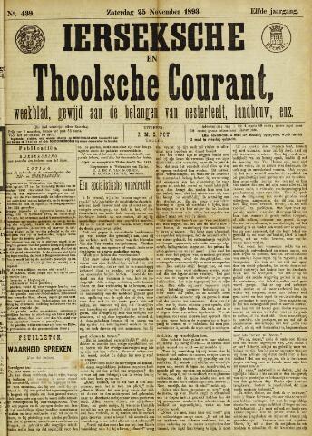 Ierseksche en Thoolsche Courant 1893-11-25