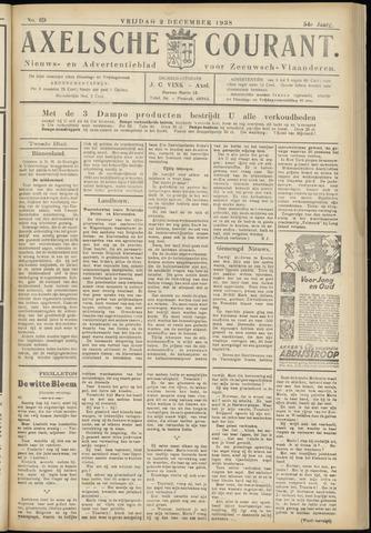 Axelsche Courant 1938-12-02