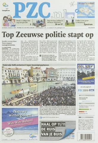 Provinciale Zeeuwse Courant 2008-10-25