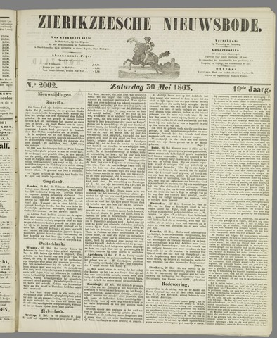 Zierikzeesche Nieuwsbode 1863-05-30