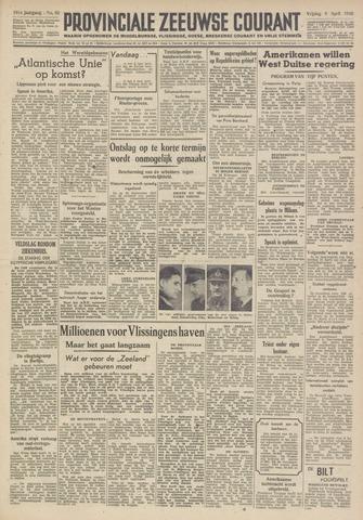 Provinciale Zeeuwse Courant 1948-04-09