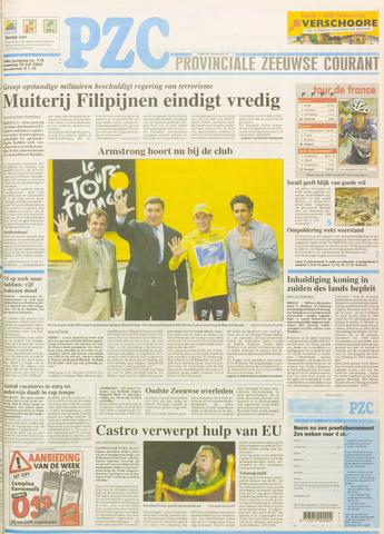 Provinciale Zeeuwse Courant 2003-07-28