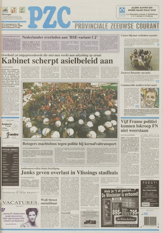 Provinciale Zeeuwse Courant 1998-03-21