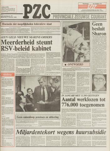 Provinciale Zeeuwse Courant 1983-02-10