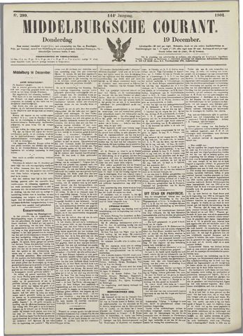 Middelburgsche Courant 1901-12-19