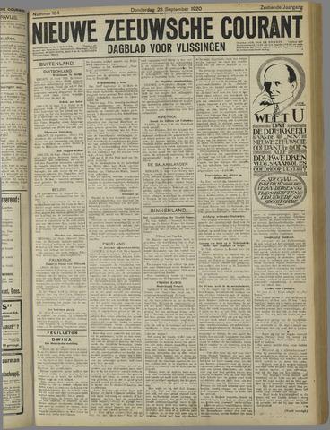 Nieuwe Zeeuwsche Courant 1920-09-23