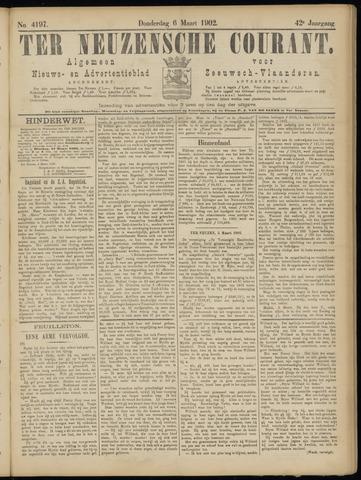 Ter Neuzensche Courant. Algemeen Nieuws- en Advertentieblad voor Zeeuwsch-Vlaanderen / Neuzensche Courant ... (idem) / (Algemeen) nieuws en advertentieblad voor Zeeuwsch-Vlaanderen 1902-03-06