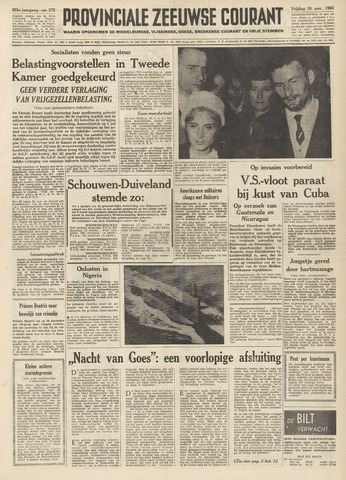 Provinciale Zeeuwse Courant 1960-11-18