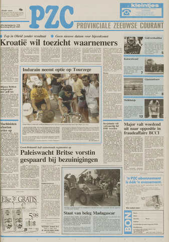 Provinciale Zeeuwse Courant 1991-07-24