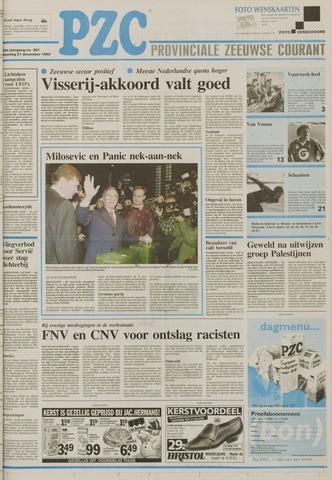 Provinciale Zeeuwse Courant 1992-12-21
