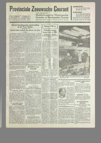 Provinciale Zeeuwse Courant 1940-10-22