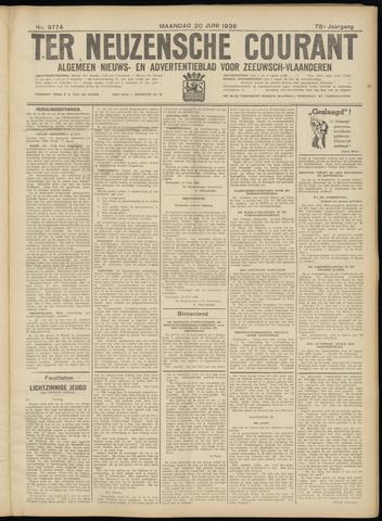 Ter Neuzensche Courant. Algemeen Nieuws- en Advertentieblad voor Zeeuwsch-Vlaanderen / Neuzensche Courant ... (idem) / (Algemeen) nieuws en advertentieblad voor Zeeuwsch-Vlaanderen 1938-06-20