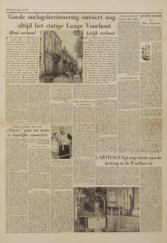 Watersnood documentatie 1953 - kranten 1953-08-15