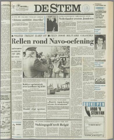 de Stem 1983-09-14