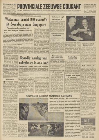 Provinciale Zeeuwse Courant 1957-12-21