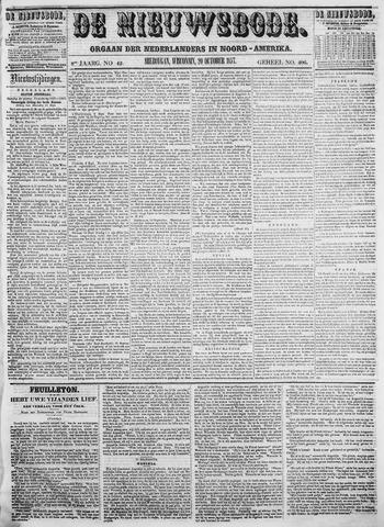 Sheboygan Nieuwsbode 1857-10-20