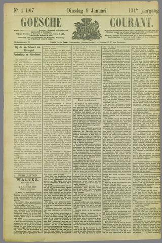 Goessche Courant 1917-01-09
