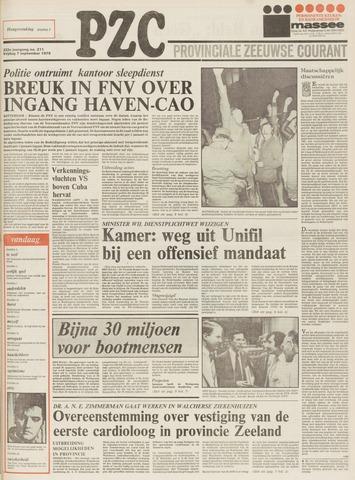 Provinciale Zeeuwse Courant 1979-09-07