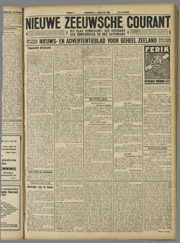 Nieuwe Zeeuwsche Courant 1927-08-04