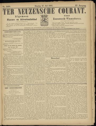 Ter Neuzensche Courant. Algemeen Nieuws- en Advertentieblad voor Zeeuwsch-Vlaanderen / Neuzensche Courant ... (idem) / (Algemeen) nieuws en advertentieblad voor Zeeuwsch-Vlaanderen 1897-07-27