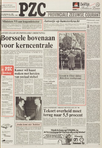 Provinciale Zeeuwse Courant 1985-12-12