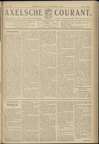 Axelsche Courant 1931-10-13