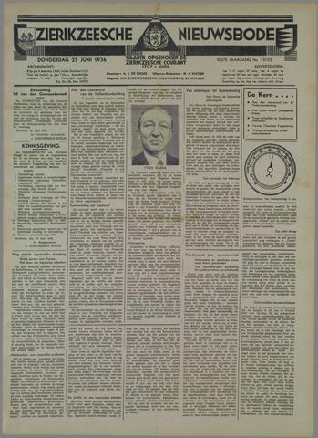 Zierikzeesche Nieuwsbode 1936-06-25