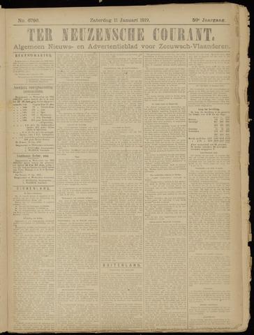 Ter Neuzensche Courant. Algemeen Nieuws- en Advertentieblad voor Zeeuwsch-Vlaanderen / Neuzensche Courant ... (idem) / (Algemeen) nieuws en advertentieblad voor Zeeuwsch-Vlaanderen 1919-01-11