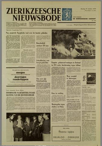 Zierikzeesche Nieuwsbode 1970-10-27