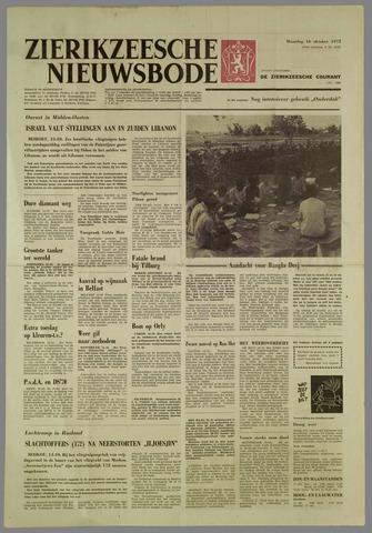Zierikzeesche Nieuwsbode 1972-10-16