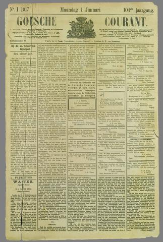 Goessche Courant 1917-01-01