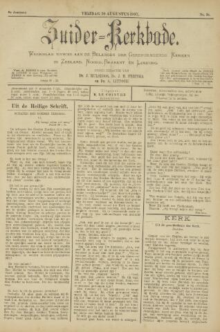 Zuider Kerkbode, Weekblad gewijd aan de belangen der gereformeerde kerken in Zeeland, Noord-Brabant en Limburg. 1897-08-20