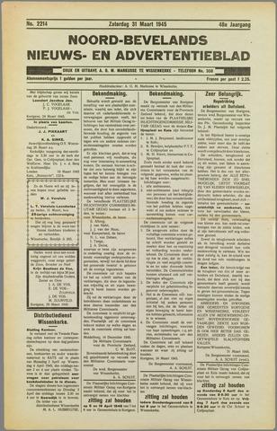 Noord-Bevelands Nieuws- en advertentieblad 1945-03-31