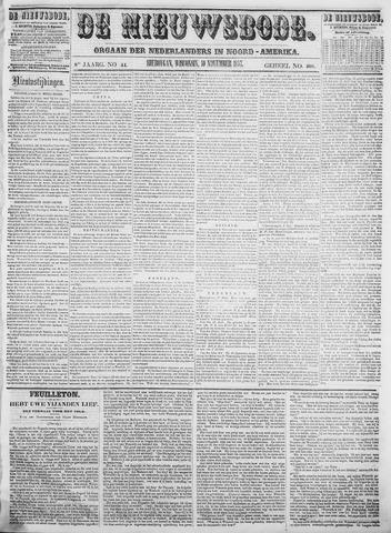 Sheboygan Nieuwsbode 1857-11-10
