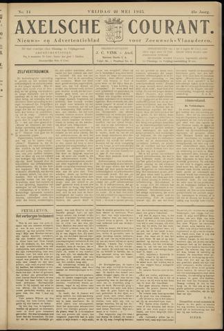 Axelsche Courant 1925-05-22