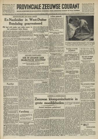 Provinciale Zeeuwse Courant 1952-02-21