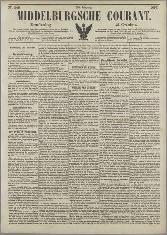Middelburgsche Courant 1897-10-21