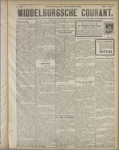 Middelburgsche Courant 1921-11-10