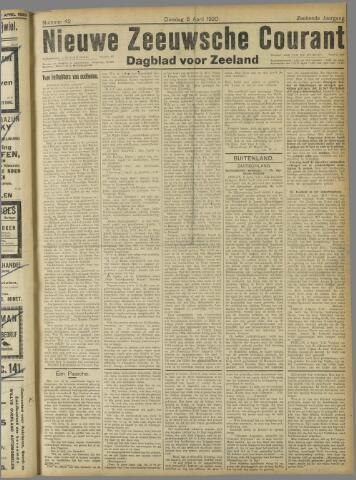 Nieuwe Zeeuwsche Courant 1920-04-06