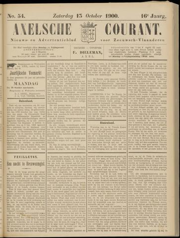 Axelsche Courant 1900-10-13
