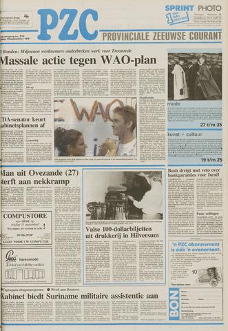 Provinciale Zeeuwse Courant 1991-09-13